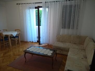 Crikvenica, Гостиная в размещении типа apartment, Домашние животные допускаются и WiFi.
