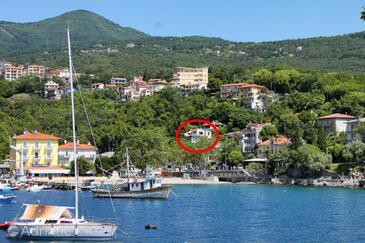 Ika, Opatija, Objekt 17713 - Apartmani blizu mora sa šljunčanom plažom.