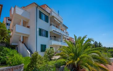 Rabac, Labin, Property 17739 - Apartments with pebble beach.