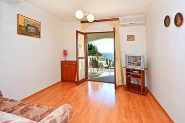 Ivan Dolac, Obývací pokoj v ubytování typu studio-apartment, WiFi.