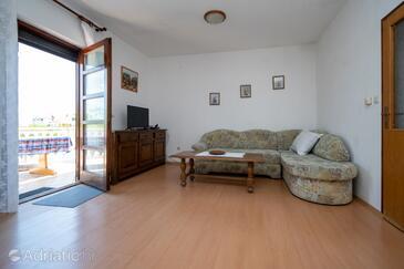 Zaglav, Dnevni boravak u smještaju tipa apartment, kućni ljubimci dozvoljeni.