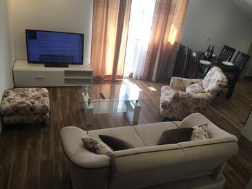 Trogir, Гостиная в размещении типа apartment, доступный кондиционер и WiFi.