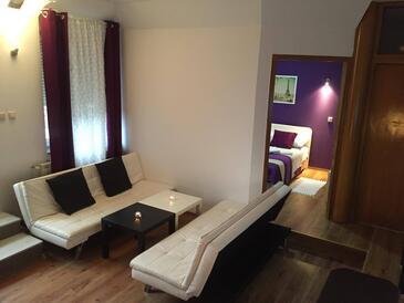 Oštarski Stanovi, Obývací pokoj v ubytování typu apartment, WiFi.