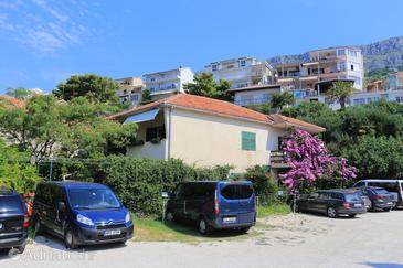 Sumpetar, Omiš, Objekt 17810 - Apartmani blizu mora sa šljunčanom plažom.