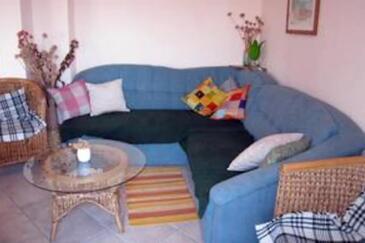 Silba, Obývací pokoj v ubytování typu apartment, WiFi.