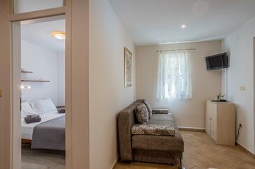 Stari Grad, Obývací pokoj v ubytování typu house, domácí mazlíčci povoleni a WiFi.
