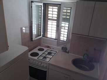 Split, Кухня в размещении типа studio-apartment, WiFi.