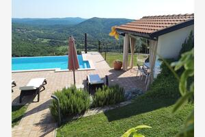 Family friendly apartments with a swimming pool Roč, Central Istria - Središnja Istra - 17942