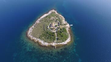 Ravna Sika, Kornati, Objekt 17947 - Ubytování v blízkosti moře.
