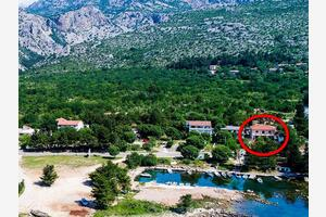Apartments by the sea Seline, Paklenica - 17955