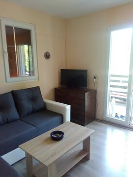 Tvrdni Dolac, Obývací pokoj v ubytování typu house, WiFi.