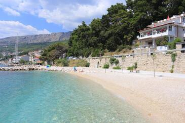 Sumpetar, Omiš, Objekt 18016 - Ubytování v blízkosti moře s oblázkovou pláží.