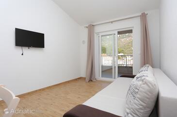 Drvenik Donja vala, Гостиная в размещении типа apartment, WiFi.