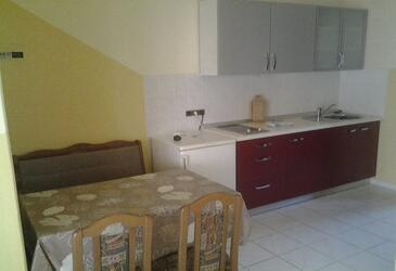 Zaton, Kuchyně v ubytování typu apartment, WiFi.