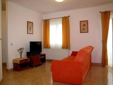 Neviđane, Obývací pokoj v ubytování typu apartment, WiFi.