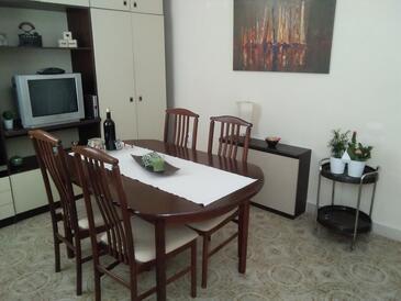 Žuljana, Obývací pokoj v ubytování typu house, WiFi.