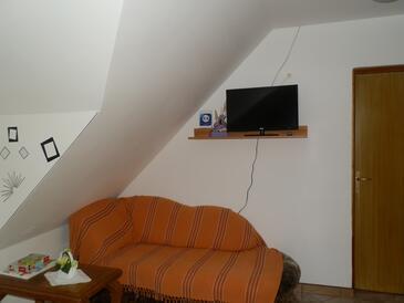 Saborsko, Obývací pokoj v ubytování typu apartment, WiFi.