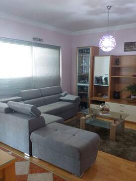 Bibinje, Гостиная в размещении типа apartment, WiFi.
