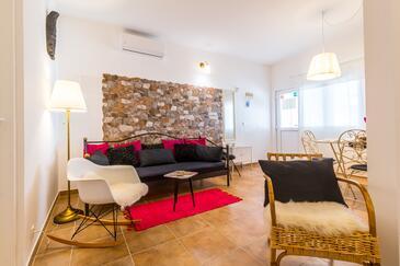 Kaštel Sućurac, Гостиная 1 в размещении типа apartment, доступный кондиционер и WiFi.