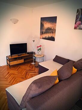 Dragoslavec, Salon dans l'hébergement en type house, animaux acceptés et WiFi.