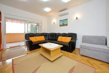 Bibinje, Гостиная в размещении типа apartment, доступный кондиционер и WiFi.