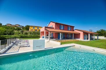 Oprtalj, Središnja Istra, Property 18124 - Vacation Rentals with sandy beach.