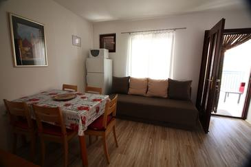 Sveti Vid, Гостиная в размещении типа apartment, доступный кондиционер, Домашние животные допускаются и WiFi.
