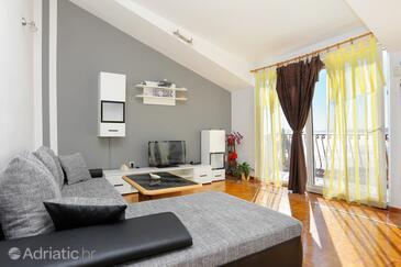 Pisak, Obývací pokoj v ubytování typu apartment, WiFi.