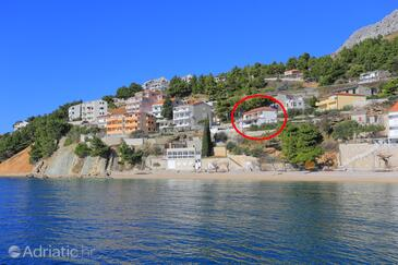 Mimice, Omiš, Property 18149 - Apartments near sea with pebble beach.