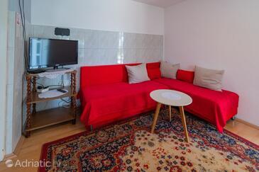 Slunj, Living room in the apartment, WiFi.