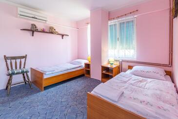 Slunj, Dnevna soba v nastanitvi vrste apartment, dostopna klima in WiFi.