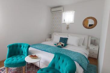 Dubrovnik, Sypialnia w zakwaterowaniu typu room, Dostępna klimatyzacja i WiFi.