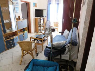 Vrsi - Mulo, Гостиная в размещении типа apartment, доступный кондиционер и WiFi.