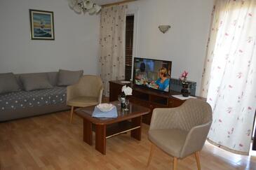 Rovinj, Гостиная в размещении типа apartment, Домашние животные допускаются.