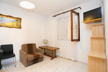 Lokva Rogoznica, Living room in the apartment, WiFi.