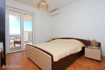 Baška Voda, Спальня в размещении типа room, доступный кондиционер и WiFi.