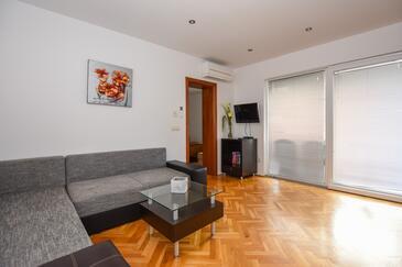 Mandre, Гостиная в размещении типа apartment, доступный кондиционер и WiFi.