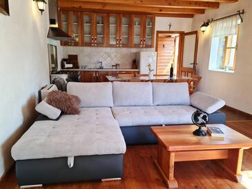 Sukošan, Гостиная в размещении типа house, Домашние животные допускаются и WiFi.