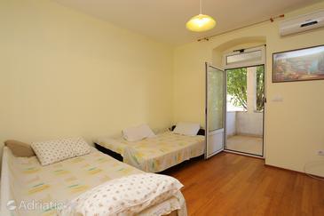Krilo Jesenice, Obývací pokoj v ubytování typu apartment, s klimatizací.