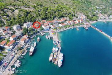 Krilo Jesenice, Omiš, Objekt 18293 - Ubytování v blízkosti moře s oblázkovou pláží.