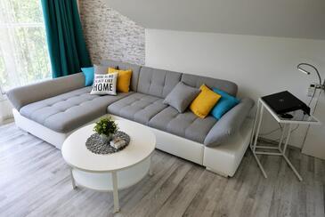 Murter, Гостиная в размещении типа apartment, доступный кондиционер и WiFi.