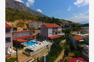 Apartments and rooms with a swimming pool Lokva Rogoznica, Omiš - 18328