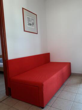 Pag, Гостиная в размещении типа apartment, доступный кондиционер, Домашние животные допускаются и WiFi.