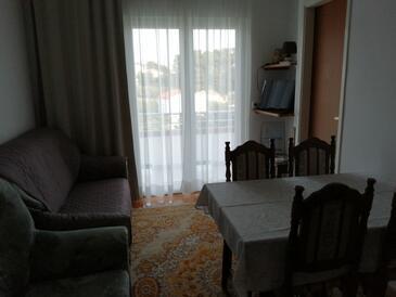 Rab, Obývací pokoj v ubytování typu apartment, WiFi.