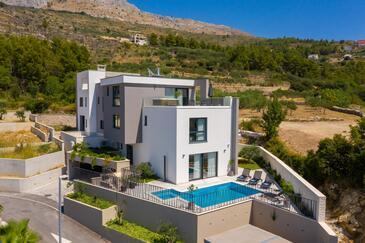 Podstrana, Split, Property 18384 - Vacation Rentals with pebble beach.