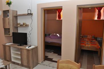 Karin Gornji, Wohnzimmer in folgender Unterkunftsart apartment, WiFi.