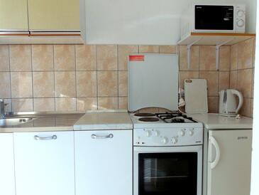 Mokalo, Kuchyně v ubytování typu studio-apartment, WiFi.