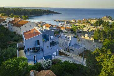 Mali Lošinj, Lošinj, Objekt 18406 - Ubytování v blízkosti moře s kamenitou pláží.