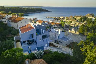 Mali Lošinj, Lošinj, Объект 18406 - Апартаменты вблизи моря со скалистым пляжем.