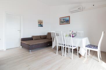 Bibinje, Гостиная в размещении типа apartment, Домашние животные допускаются и WiFi.